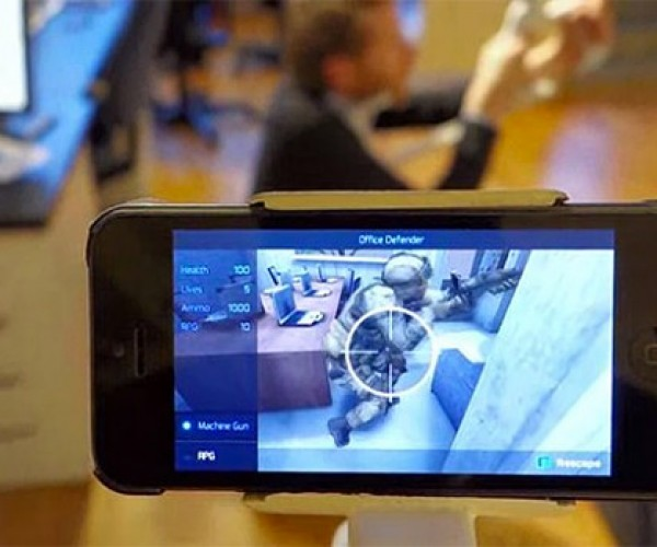 Rescape Augmented Reality Mobile FPS Platform: CountAR-Strike