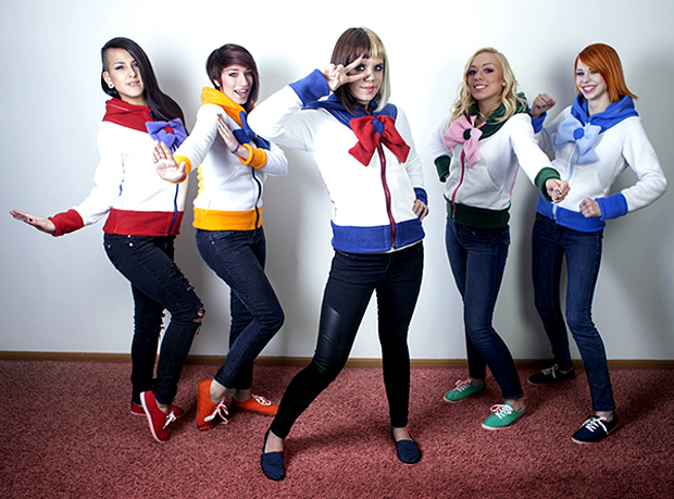sailor moon hoodies by raritys boutique