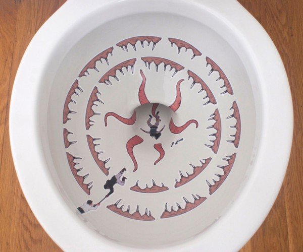 Star Wars Sarlacc Toilet Decals: the Gross Is Strong with This One
