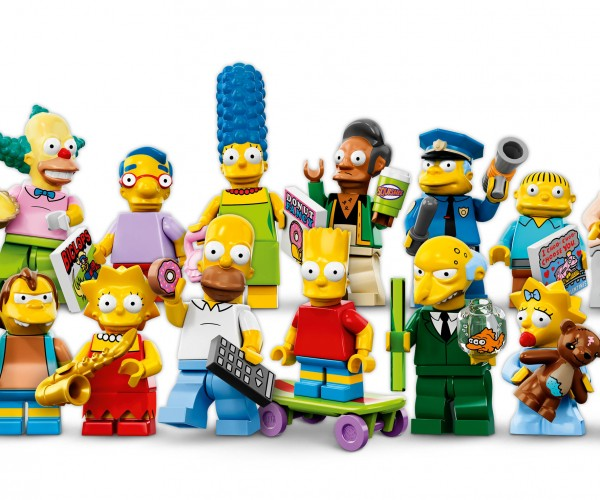 LEGO Unveils Simpsons Minifigs