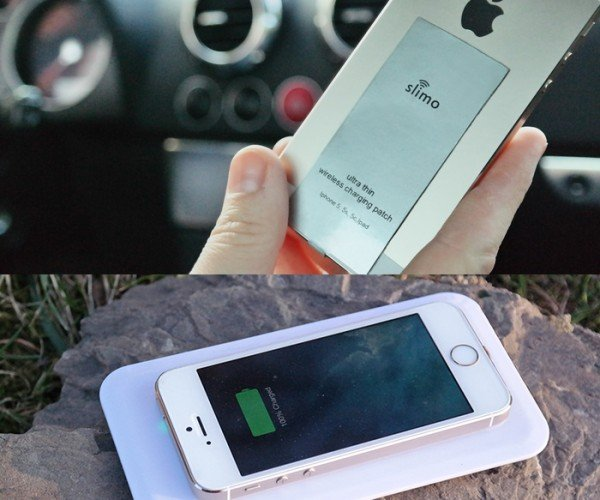 Slimo Lightning Charging Patch for iOS Helps You Quit Cables