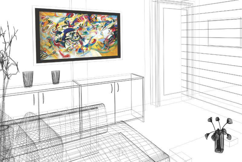 Soundwall Artwork Is Actually a Speaker - Technabob