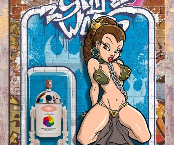 Star Wars Gets the Street Art Treatment