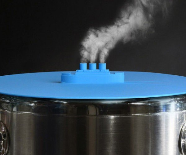 Steam Ship Pot Lid Cruises into Kitchens