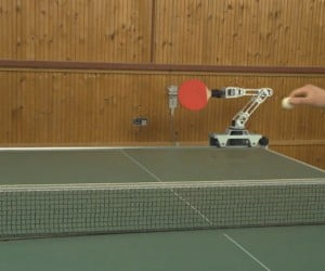 This Robot Can Beat You at Table Tennis with Just One Hand