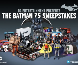 The Batman 75 Sweepstakes Promises Enough Swag to Fill Your Batcave