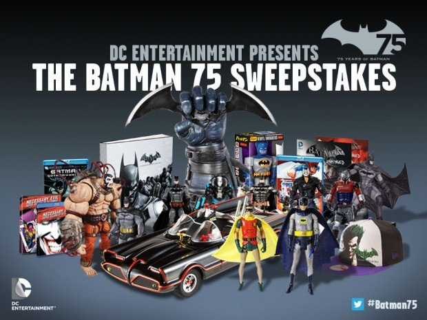 the batman 75 sweepstakes by dc comics 620x465