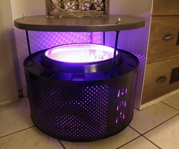 Washing Machine Drums Make Good Coffee Tables