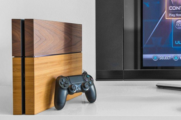 Real Wood Ps4 Skins Gt Fake Wood Ps4 Skins Technabob