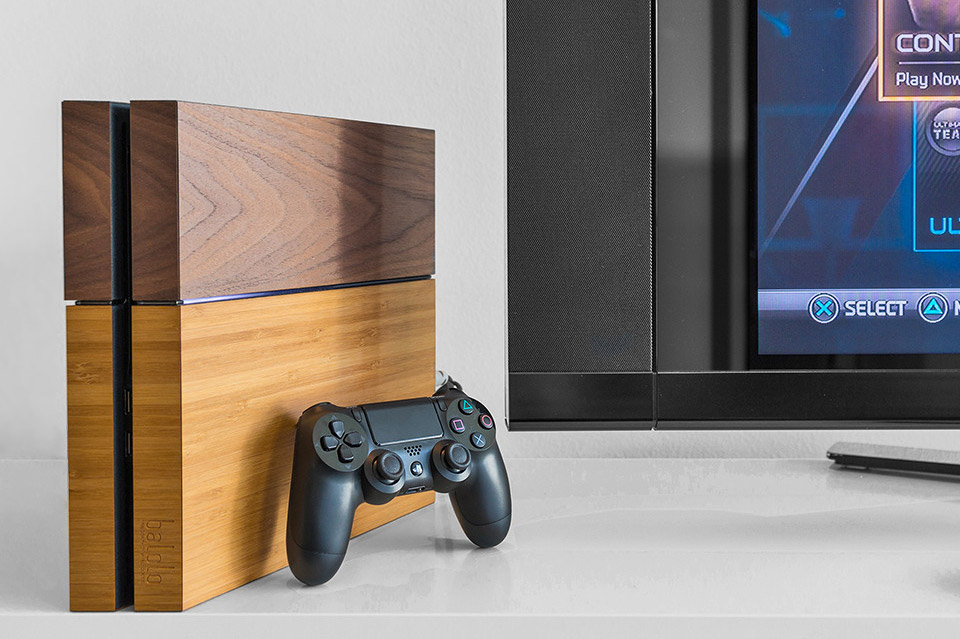 Real Wood PS4 Skins Fake Wood PS4 Skins Technabob