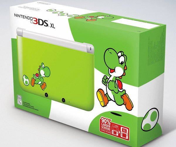 Yoshi Themed Nintendo 3DS XL Is Coming, Game Sold Separately