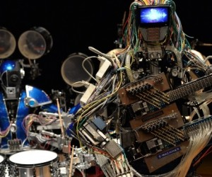 Z-MACHINES Robot Band: Rage with the Machines