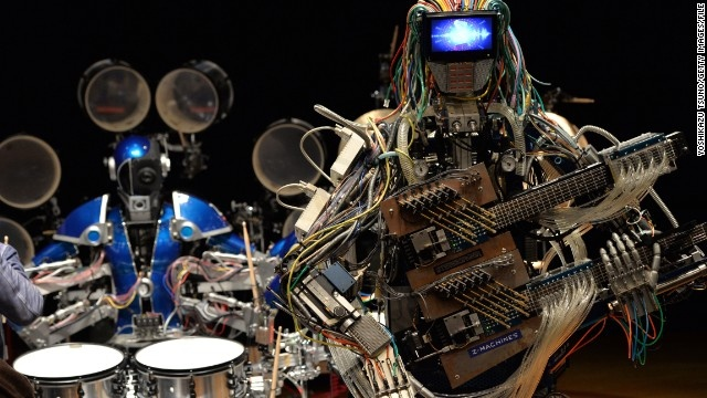 Z-MACHINES Robot Band: Rage with the Machines - Technabob