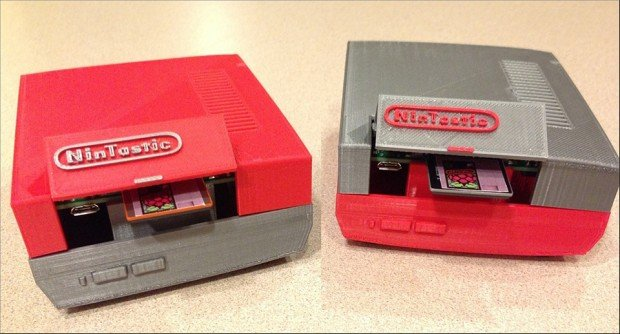 3d printed raspberry pi NES case by tastic007 3 620x334