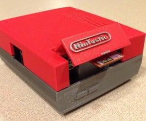 3D Printed Raspberry Pi NES Case: NinTastic