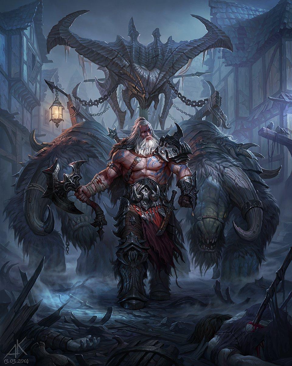 Diablo Iii Reaper Of Souls Fan Art Contest Winners