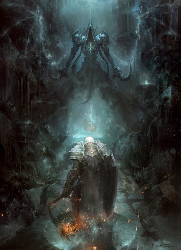 Diablo III Reaper of Souls fan art by TheRafa 620x855