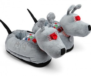 Have Your Dog Bring You These K-9 Slippers