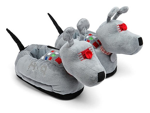 Doctor Who K 9 Slippers