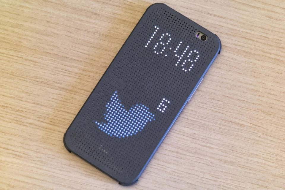 Dot View Case Hack for HTC One M8: Awesomesauce! - Technabob