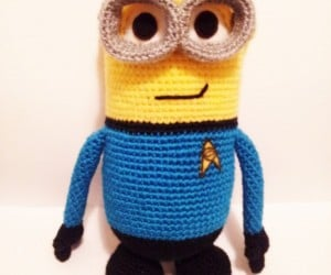 Spock Minion Amigurumi: Highly Logical
