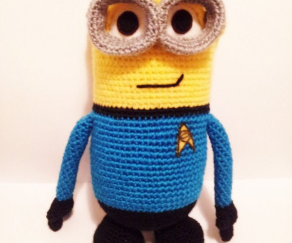 Spock Minion Amigurumi: Highly Logical