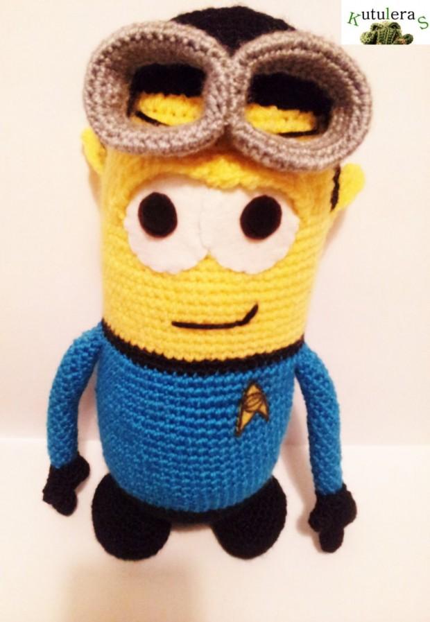 Spock Minion Amigurumi2