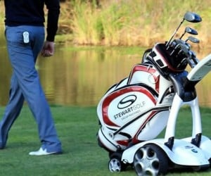 X9 Golf Trolley Follows You Around Like an Obedient Puppy