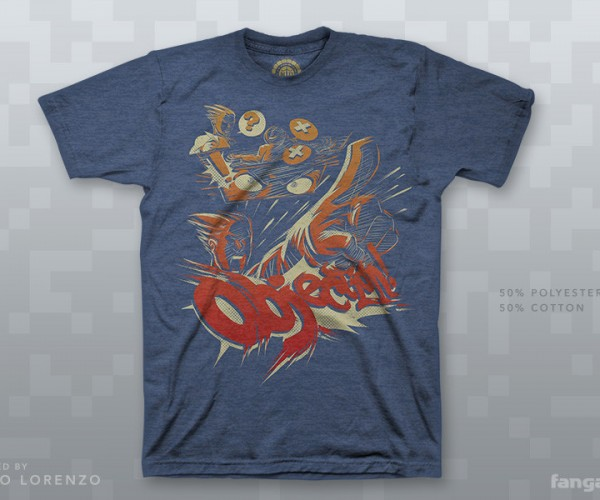 Ace Attorney Objection! T-Shirt: Sustained