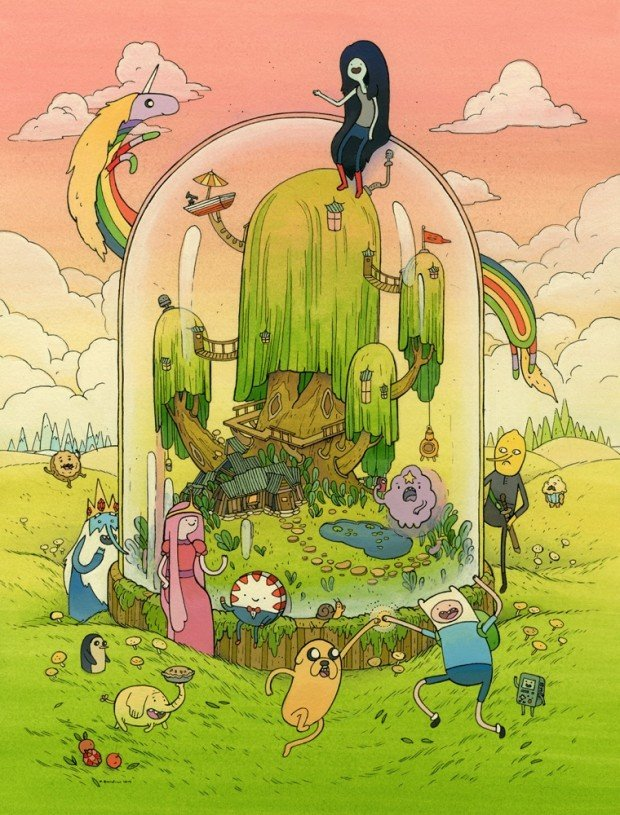 adventure time art1 620x815