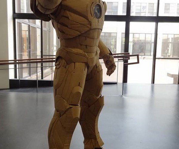 Cardboard Iron Man Costume: Magneto-proof