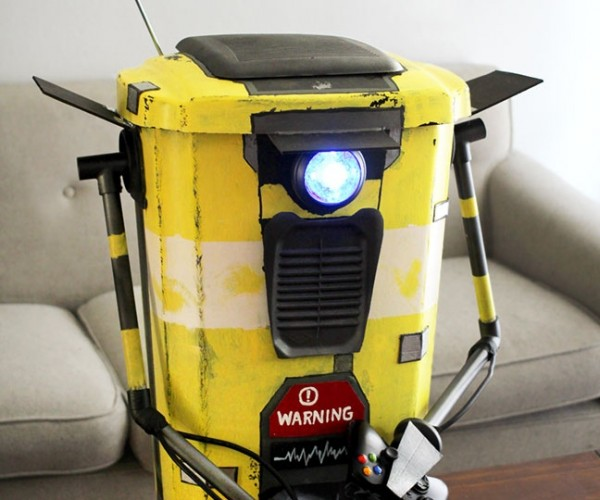 Borderlands Claptrap Trash Can: Please Don't Shoot It!