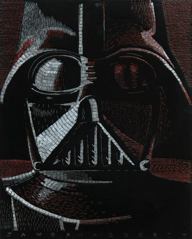 Incredible Star Wars Art Made from Staples