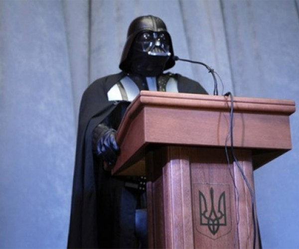 Darth Vader Could Be the Next President of Ukraine