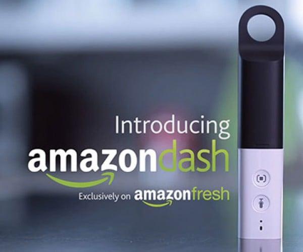 Amazon Dash Makes Ordering Groceries via AmazonFresh Even Easier