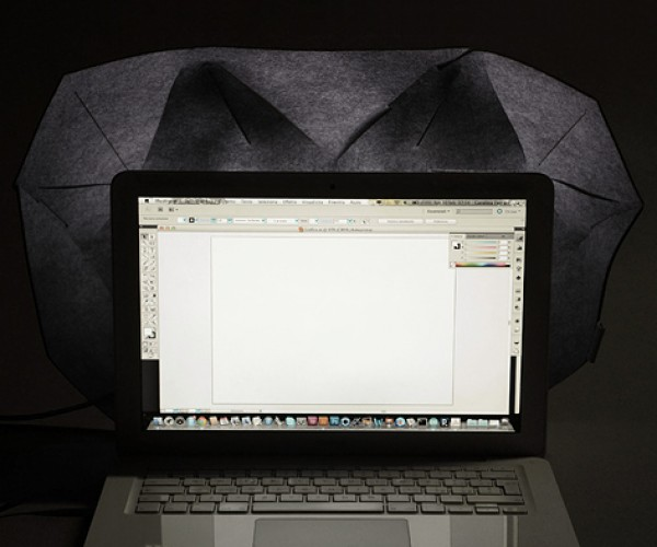 Diffuse Laptop Light Makes Screens Easy on the Eyes: Ambif.lux