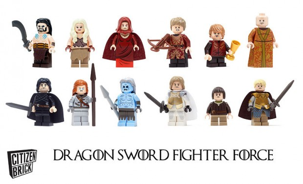 dragon sword fighter force game of thrones lego minifig by citizen brick 620x378