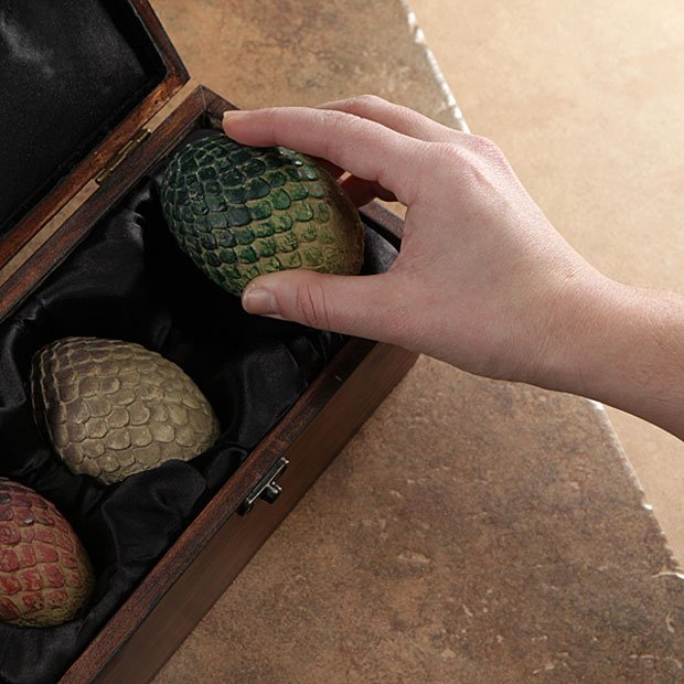Game of Thrones Dragon Egg Replicas Won't Hatch In Fire