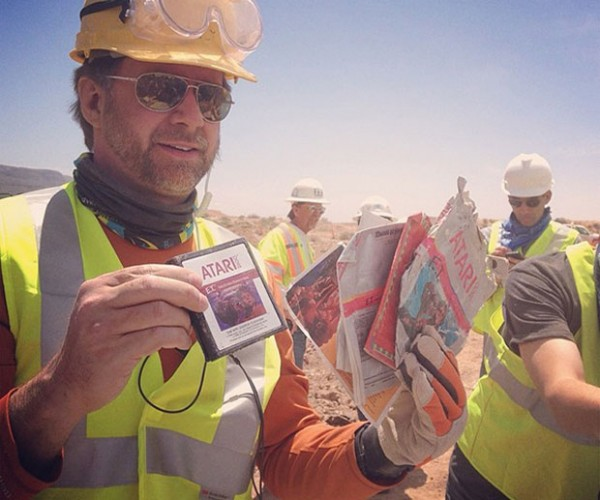 Atari E.T. Landfill Dig Hits Paydirt