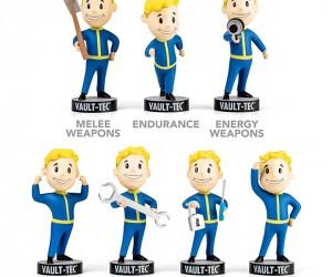 Fallout 3 Vault Boy Bobbleheads: S.P.E.C.I.A.L. Collectibles