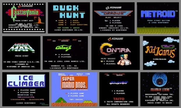 game screens