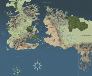"Cross the Narrow Sea with This Interactive ""Game of Thrones"" Map"