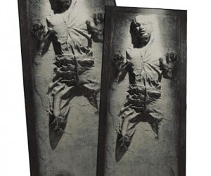Han Solo in Carbonite Rug: Ford under Foot