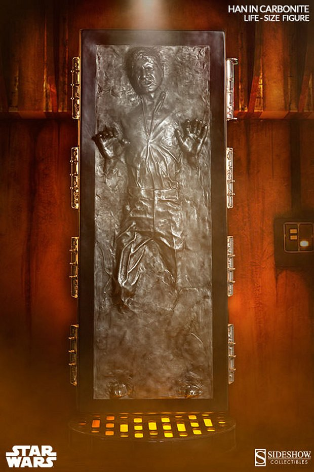 Life Size Han Solo In Carbonite For 6 999 Technabob