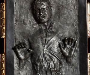 Life-size Han Solo in Carbonite for $6,999