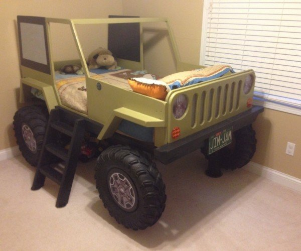 Jeep Bed Blueprints Will Have You Counting Sheep in Your Jeep