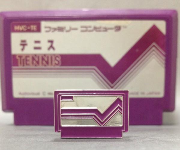 Famicom Pin Badge Collection: Gotta Cart 'Em All