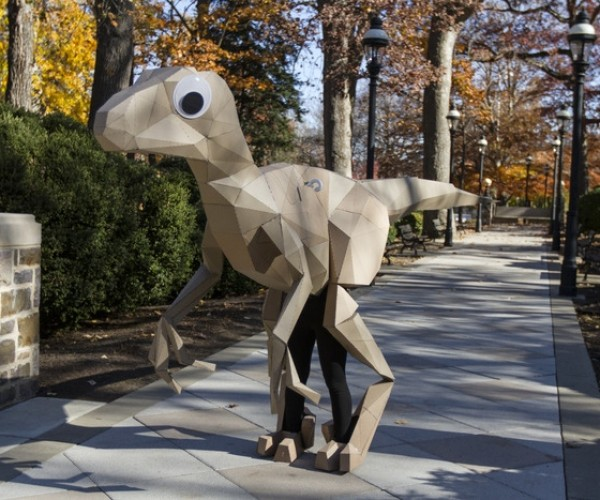 Build Your Own Paper Velociraptor