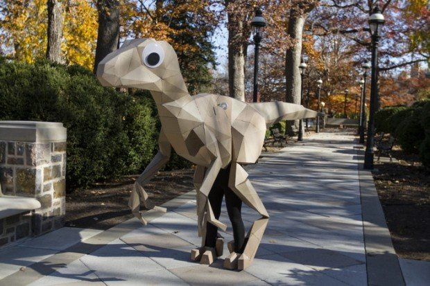 Build Your Own Paper Velociraptor