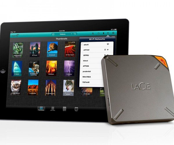 LaCie Fuel 2TB iPad Storage Device Packs Plentiful Space on the Go